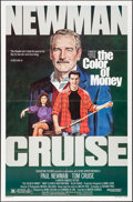 "Movie Posters:Drama, The Color of Money (Buena Vista, 1986). One Sheet (27"" X 41"").Drama.. ..."