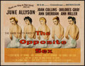"Movie Posters:Drama, The Opposite Sex (MGM, 1956). Half Sheet (22"" X 28""). Drama.. ..."