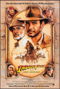 """Movie Posters:Action, Indiana Jones and the Last Crusade (Paramount, 1989). One Sheet(27"""" X 41"""") Advance. Action.. ..."""