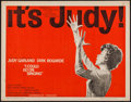 "Movie Posters:Drama, I Could Go On Singing (United Artists, 1963). Half Sheet (22"" X28""). Drama.. ..."