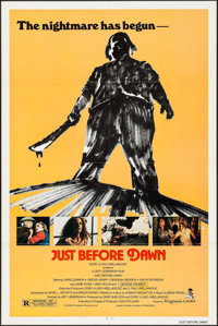"""Just before Dawn & Others Lot (Picturmedia, 1981). One Sheets (3) (27"""" X 41""""). Horror. ... (Total: 3 Items..."""