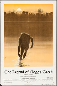 "The Legend of Boggy Creek (Howco, 1973). One Sheet (27"" X 41""). Thriller"