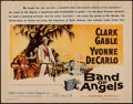 "Movie Posters:Drama, Band of Angels (Warner Brothers, 1957). Half Sheet (22"" X 28"").Drama.. ..."