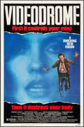 "Movie Posters:Fantasy, Videodrome (Universal, 1983). One Sheet (27"" X 41""). Fantasy.. ..."
