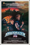"Movie Posters:Science Fiction, Spacehunter: Adventures in the Forbidden Zone & Other Lot (Columbia, 1983). One Sheets (2) (27"" X 40"" & 27"" X 41""). 3-D Styl... (Total: 2 Items)"