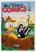 Golden Age (1938-1955):Cartoon Character, Walt Disney's Comics and Stories #48 (Dell, 1944) Condition:VG+....