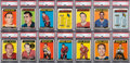 Hockey Cards:Sets, 1965 Topps Hockey High Grade Complete Set (128) With Mint Phil Esposito Rookie! ...