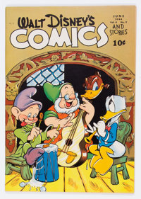 Walt Disney's Comics and Stories #45 (Dell, 1944) Condition: FN/VF