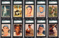 Baseball Cards:Sets, 1957 Topps Baseball Complete Set (407) Plus Checklists. ...