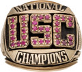 Football Collectibles:Others, 1978 USC Trojans National Championship Ring. ...