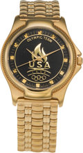 Basketball Collectibles:Others, 1996 Summer Olympics Dream Team II Watch Presented to ClemHaskins....