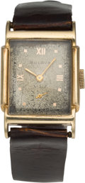 Football Collectibles:Others, 1944 Ohio State Alumni Club Gold Watch Presented to Les Horvath....
