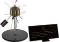 Explorers:Space Exploration, NASA/ British Vintage ARIEL Satellite Model on Stand with EngravedPlaque, 1/8 Scale. ...