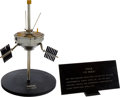 Explorers:Space Exploration, NASA Vintage TIROS Satellite Model on Stand with Engraved Plaque, 1/8 Scale....