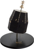Explorers:Space Exploration, NASA Vintage RELAY Satellite Model on Stand, 1/8 Scale. ...