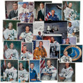 Autographs:Celebrities, NASA Astronauts: Collection of Thirty-Seven Signed Photos- Mercurythrough Shuttle, includes Thirteen Who Flew to the Moon....