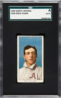 Baseball Cards:Singles (Pre-1930), 1909-11 T206 Sweet Caporal-150 Subjects Eddie Plank SGC Authentic....