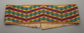 American Indian Art:Beadwork and Quillwork, A Potawatomie Loom-Woven Belt...