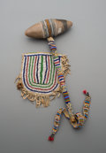 American Indian Art:Beadwork and Quillwork, Two Sioux Beaded Hide Items... (Total: 2 Items)