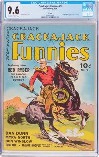 Crackajack Funnies #9 File Copy (Dell, 1939) CGC NM+ 9.6 Off-white to white pages