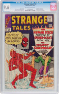 Silver Age (1956-1969):Superhero, Strange Tales #115 (Marvel, 1963) CGC NM+ 9.6 Off-white to white pages....