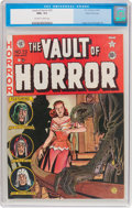 Golden Age (1938-1955):Horror, Vault of Horror #23 Gaines File Pedigree (EC, 1952) CGC NM+ 9.6Off-white to white pages....