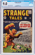 Silver Age (1956-1969):Horror, Strange Tales #98 (Marvel, 1962) CGC VF/NM 9.0 Cream to off-whitepages....