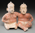 Pre-Columbian:Ceramics, A Jalisco Conjoined Couple...