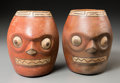 Pre-Columbian:Ceramics, A Pair of Wari Vessels ... (Total: 2 Items)