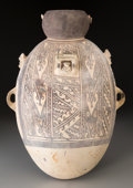 Pre-Columbian:Ceramics, A Large Chancay Amphora...