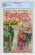 Silver Age (1956-1969):Superhero, Fantastic Four #12 (Marvel, 1963) CBCS NM+ 9.6 Off-white to white pages....