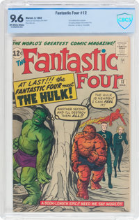 Fantastic Four #12 (Marvel, 1963) CBCS NM+ 9.6 Off-white to white pages