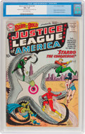 Silver Age (1956-1969):Superhero, The Brave and the Bold #28 Justice League of America (DC, 1960) CGCVG+ 4.5 Tan to cream pages....
