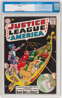 Justice League of America #3 Bethlehem Pedigree (DC, 1961) CGC VF 8.0 Tan pages