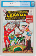 Silver Age (1956-1969):Superhero, Justice League of America #9 (DC, 1962) CGC NM- 9.2 Off-white towhite pages....