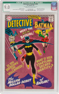 Silver Age (1956-1969):Superhero, Detective Comics #359 (DC, 1967) CGC Qualified VF/NM 9.0 Cream tooff-white pages....