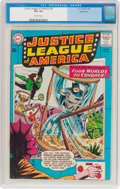 Silver Age (1956-1969):Superhero, Justice League of America #26 Bethlehem Pedigree (DC, 1964) CGC VF+ 8.5 Off-white pages....
