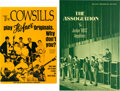 Music Memorabilia:Posters, Cowsills & the Association - Two Equipment Endorsement Posters(Circa 1960s).... (Total: 2 Items)