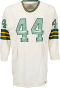 Football Collectibles:Uniforms, Circa 1966 Donny Anderson Game Worn Green Bay Packers Jersey....