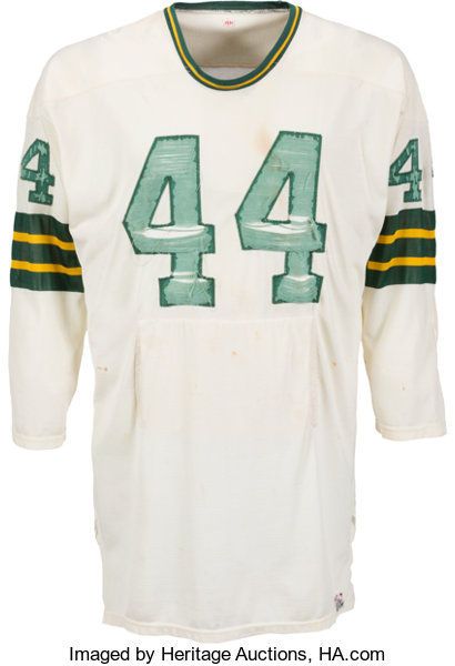 Circa 1966 Donny Anderson Game Worn Green Bay Packers Jersey ... d530d2e2c