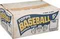 Baseball Cards:Unopened Packs/Display Boxes, 1965 Topps Baseball Shipping Case (Empty) with Killebrew, Koufaxand Mantle Graphics. ...