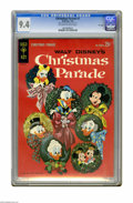 Silver Age (1956-1969):Cartoon Character, Christmas Parade #1 File Copy (Gold Key, 1962) CGC NM 9.4 Off-white to white pages. Overstreet 2005 NM- 9.2 value = $130. CG...
