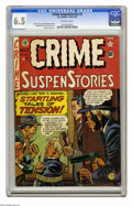 Golden Age (1938-1955):Crime, Crime SuspenStories #2 (EC, 1950) CGC FN+ 6.5 Off-white pages.Johnny Craig cover. Interior art by Craig (two stories), Grah...