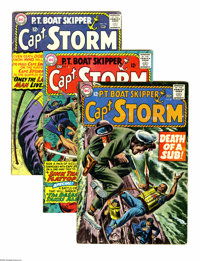 DC Bronze War Group (DC, 0) Condition: Average VG. Included in this nine-issue lot is Capt. Storm #8 (grey-tone cover by...