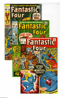 Fantastic Four Group (Marvel, 1971-72) Condition: Average VF+. This group consists of 20 comics: #106, 107, 108 (last Ja...