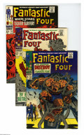Silver Age (1956-1969):Superhero, Fantastic Four Group (Marvel, 1967-68) Condition: Average VF+. Eight-issue group lot includes #68, 69, 72, 73 (Spider-Man, T... (Total: 8 Comic Books)