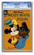 Silver Age (1956-1969):Cartoon Character, Four Color #1151 File Copy (Dell, 1960) CGC NM- 9.2 Off-white to white pages. Mickey Mouse Album. Overstreet 2005 NM- 9.2 va...