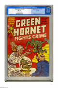 Golden Age (1938-1955):Crime, Green Hornet Comics #36 File Copy (Harvey, 1947) CGC NM 9.4 Cream to off-white pages. Bob Powell and Bill Draut art. Overstr...