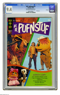 H.R. Pufnstuf #1 File Copy (Gold Key, 1970) CGC NM 9.4 Off-white to white pages. Attractive photo cover with great gloss...