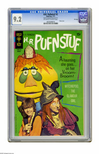 """H.R. Pufnstuf #2 File Copy (Gold Key, 1971) CGC NM- 9.2 Off-white to white pages. Photo cover. CGC notes: """"From the..."""